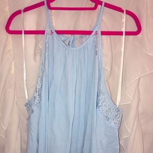 Forever21+ baby blue tank size 3x